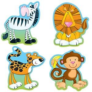 Carson Dellosa Jungle Animals Cut-Outs (120072)