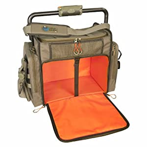 Wild River by CLC WN3702 Tackle Tek Frontier Lighted Bar Handle Tackle Bag (Trays Not... by Custom Leathercraft