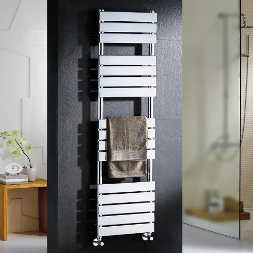 Sacramento Flat Panel Towel Radiator - 1600x450mm
