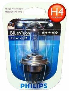 philips 12342bvb1 philips blue vision h4 scheinwerferlampe. Black Bedroom Furniture Sets. Home Design Ideas