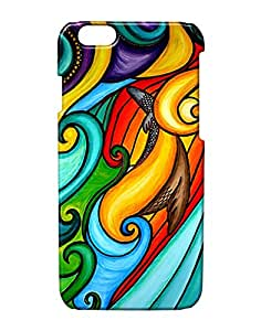 Pickpattern Back Cover for Apple iPhone 6