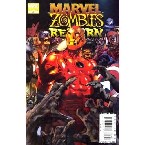 "Marvel Zombies Return #2 ""Arthur Suydam Iron Man 2nd Print Variant"""