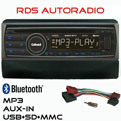 AUTORADIO-Gelhard-GXD670-mit-CDMP3-USB-Bluetooth-fr-Ford-Focus-Mondeo-Galaxy