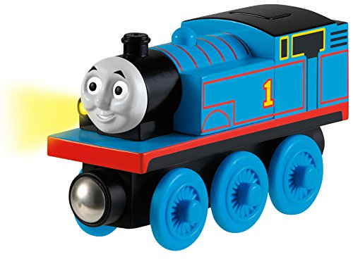 Fisher-Price Thomas the Train Wooden Railway Talking Thomas JungleDealsBlog.com