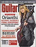 img - for Guitar Player Magazine (May 2010) (Orianthi - Michael Jackson's Final Discovery - Reveals Her Pop-Shred Pyrotechnics) book / textbook / text book