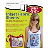 Jacquard Ink Jet Fabric 8.5-Inchx11-Inch Sheets, Cotton, 10-Pack