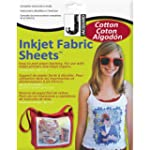 Jacquard Ink Jet Fabric 8.5'' x 11''...