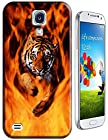 Tiger Case Cover Hard Back Cases Beautiful Nice Cute Animal hot selling cell phone cases for Samsung Galaxy S4 i9500 # 5