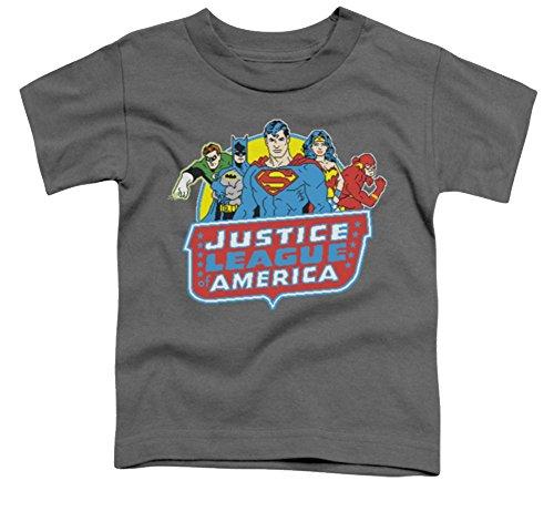 Justice League 8 Bit Leagues Toddler T-Shirt