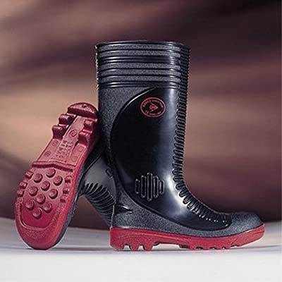 Black Safety Wellingtons Steel Toe | Dunlop