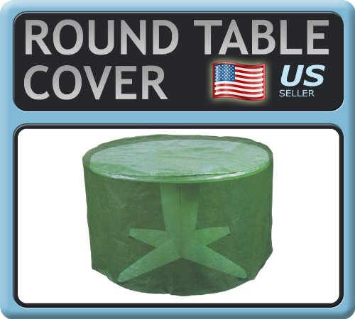 Round Garden Table Furniture Cover