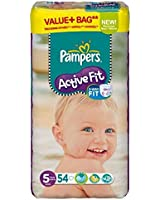 PAMPERS Active Fit - 11 à 25 Kgs - X 54