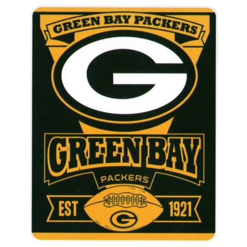 Nfl Marquee Logo Lightweight Fleece Blanket (Green Bay Packers) front-33478