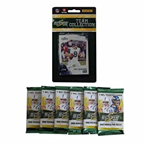 NFL Seattle Seahawks 2010 Score Team Set with Six Score Football Packs by Panini