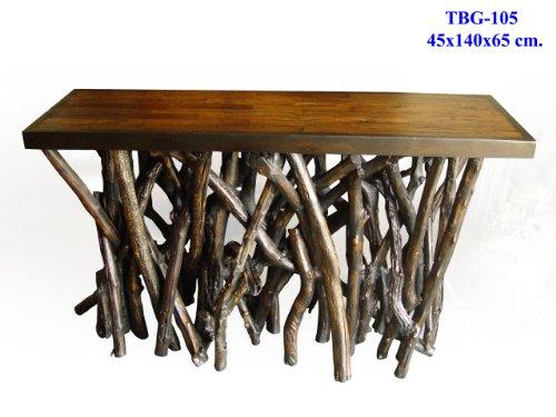 Mango Or Monkey Wood Table With Drift Wood Legs Custom Sizes Available