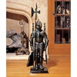 Park Avenue Collection The Black Knight Fireplace Tool Set