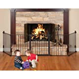 Kidco Auto Close HearthGate Black Pet Gate