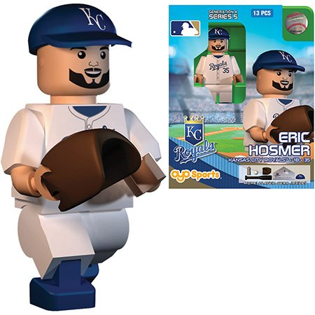 Eric Hosmer MLB Kansas City Royals Oyo G4S5 Minifigure