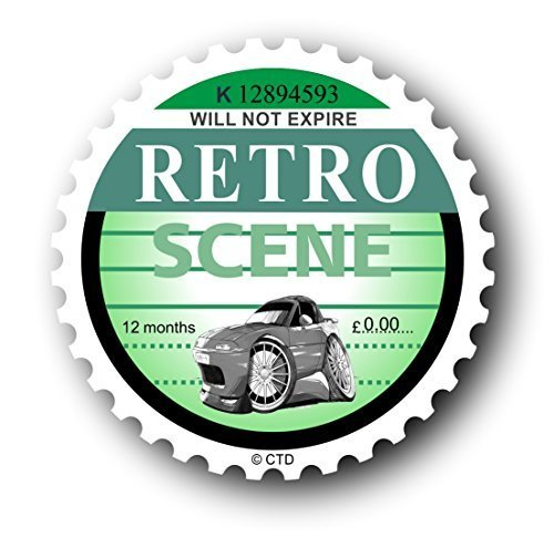 novelty-retro-tax-disc-replacement-design-with-koolart-mazda-eunos-roadster-mx5-image-vinyl-car-stic