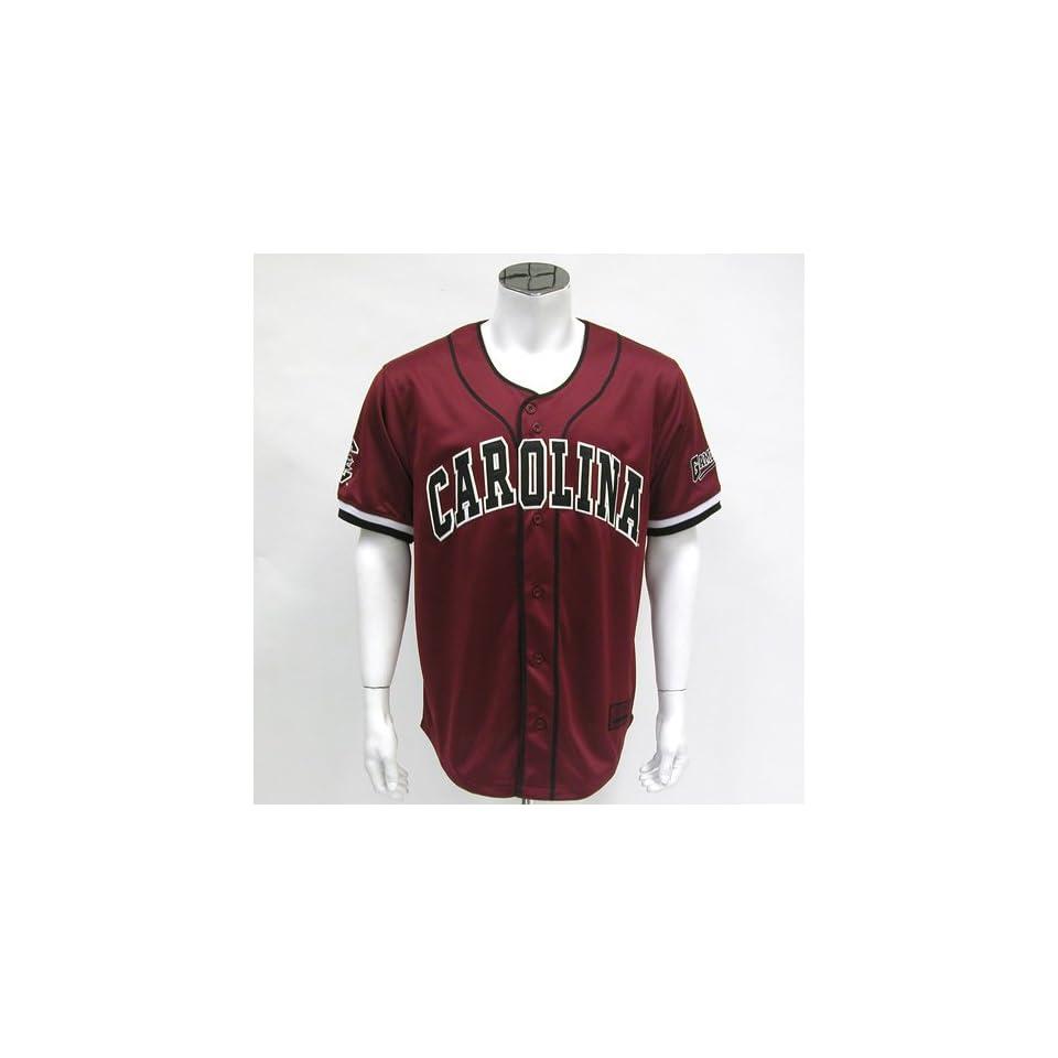 South Carolina Gamecocks NCAA Strike Zone Baseball Jersey