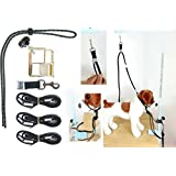 """WOSS Groomers Hook-Up 1/2"""" Cross Tie System, Made in the USA"""