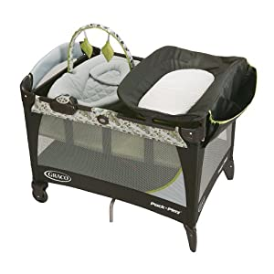 graco pack 39 n play with newborn napper lx travel play yard caraway. Black Bedroom Furniture Sets. Home Design Ideas