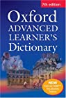 Oxford Advanced Learner's Dictionary par Hornby