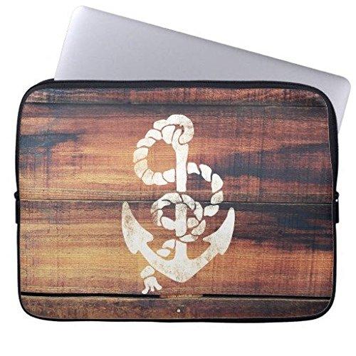electronics-fundas-neopreno-portatil-160421-3-vintage-nautical-anchor-white-on-brown-wood-grain-15-1