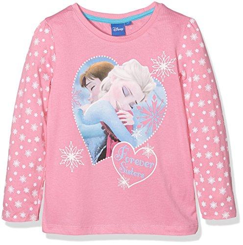 Disney-Frozen-Elsa-camiseta-Nios-Rosa-Rosa-Rosa-5-aos