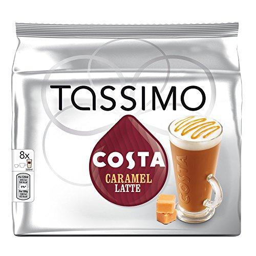 Tassimo Home Use T-Discs Pods You Choose Flavours Carte Noire Cadburys Suchards (Carte Noire Caramel Latte 8's)