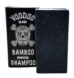 Beauty and the Bees Voodoo Bamboo Charcoal Shampoo Bar wih Organic Leatherwood Honey and Beeswax