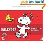 Peanuts Wandkalender 2014: 17-Monats-...