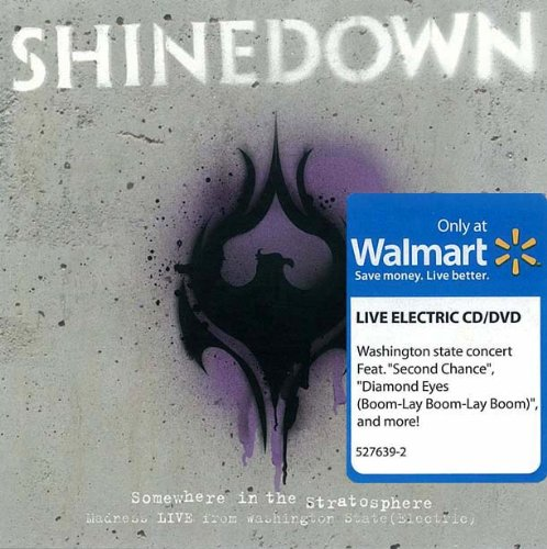 Shinedown - Somewhere in the Stratosphere: Madness Live from Washington State (Electric) (1 CD/1 DVD) (1 CD+DVD)