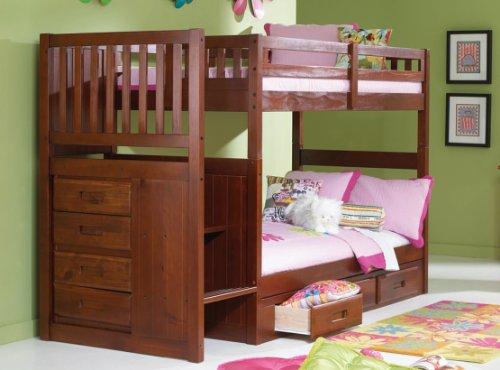 Loft Bed Over Desk 178449 front