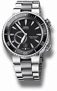 "ORIS (オリス) 腕時計 ダイバーズ チタン ""C"" スモールセコンド デイト 643 7638 7454M メンズ [正規輸入品]"