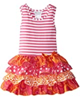 Bonnie Jean Little Girls' Multi-Tiered Drop-waist Dress