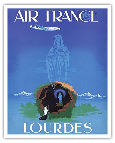 air-france-lourdes-impresion-de-la-bella-arte-16-x-20