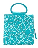 Jute Cottage Women's Tote Bag (Blue) (RPC-3371-bag)
