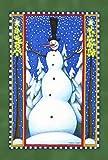 Stovepipe Bandera del muñeco de nieve 119633