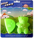 Mommy I'm Here  CL-606FG Bear Coats Protective Fashion Covers Add Style and Protect Your Child Locator, Fluorescent Green