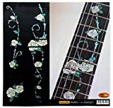 Fretboard Markers Inlay Sticker Decals for Guitar - Gypsy Rose