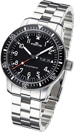 Fortis B42 Official Cosmonauts Day Date 647.10.11.M Reloj Automático para hombres Carcasa Maciza