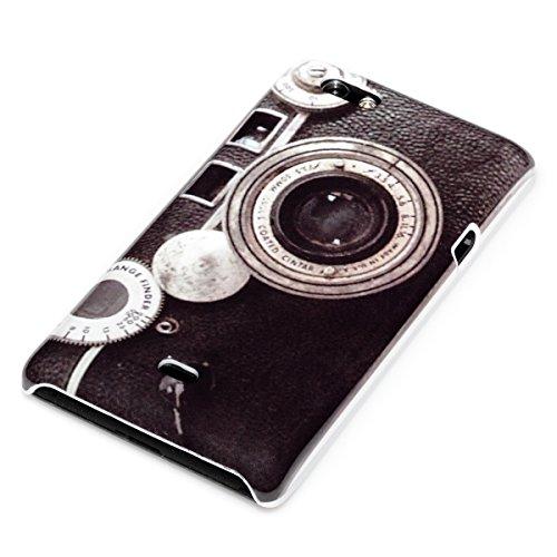 deinPhone Sony Xperia Miro ST23i HARDCASE Hülle Case Retro Kamera