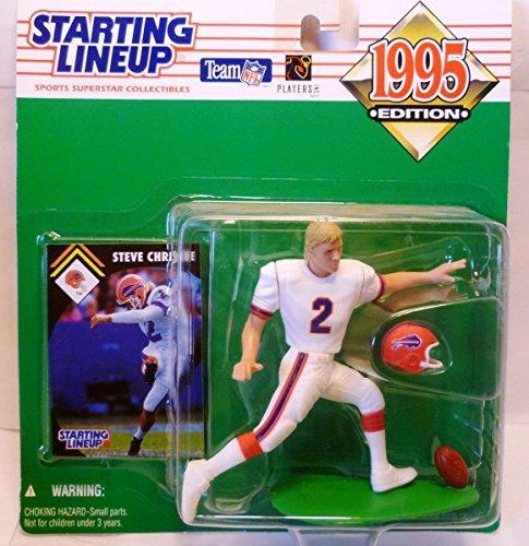 1995 Steve Christie NFL Starting Lineup Figure