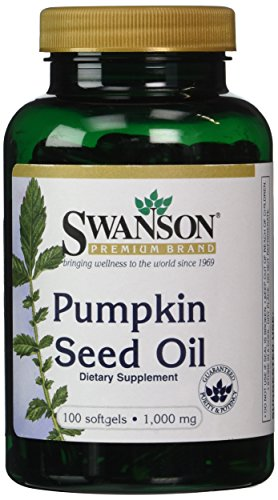Swanson Pumpkin Seed Oil 1,000 mg 100 Sgels (Bladder Control Pills compare prices)