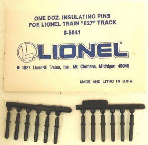 Lionel 6-65041 O27 Insulator Pins (12) - 1