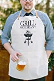 Apron, Grill Sergeant, present, grilling apron, menswear, housewarming gift, kitchen decor
