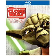 Star Wars: The Clone Wars - The Complete Season Two (Repackage) [Blu-ray]