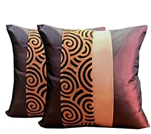 Throw Pillow Cover Dimensions : Amazon.com: PRETTY 2 CLASSIC THROW CUSHION COVER/PILLOW CASE FOR DECORATIVE SOFA, CAR AND LIVING ...