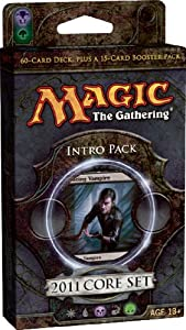 Magic the Gathering- MTG: 2011 Core Set M11 - Theme Deck - Intro Pack 3 - Reign of Vampirism (BLACK)